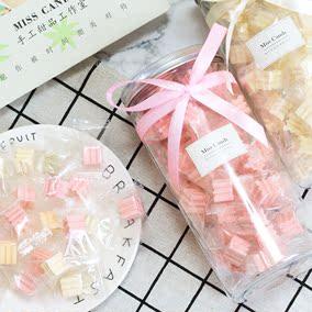 ins网红高颜值牛奶糖果儿童生日礼物女生礼盒装创意小零食送闺蜜