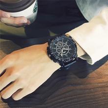 权志龙gd同款手表潮牌欧美个性潮人男士潮流韩版学生潮男简约休闲