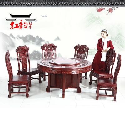 实木红木圆桌有假货吗