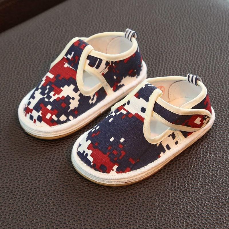 儿童布鞋女1-3岁宝宝千层底老北京婴儿学步鞋单鞋2男春秋防滑软底