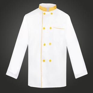厨师服短袖酒店饭店餐厅蛋糕房厨房男女厨师工作服夏装绣字大码