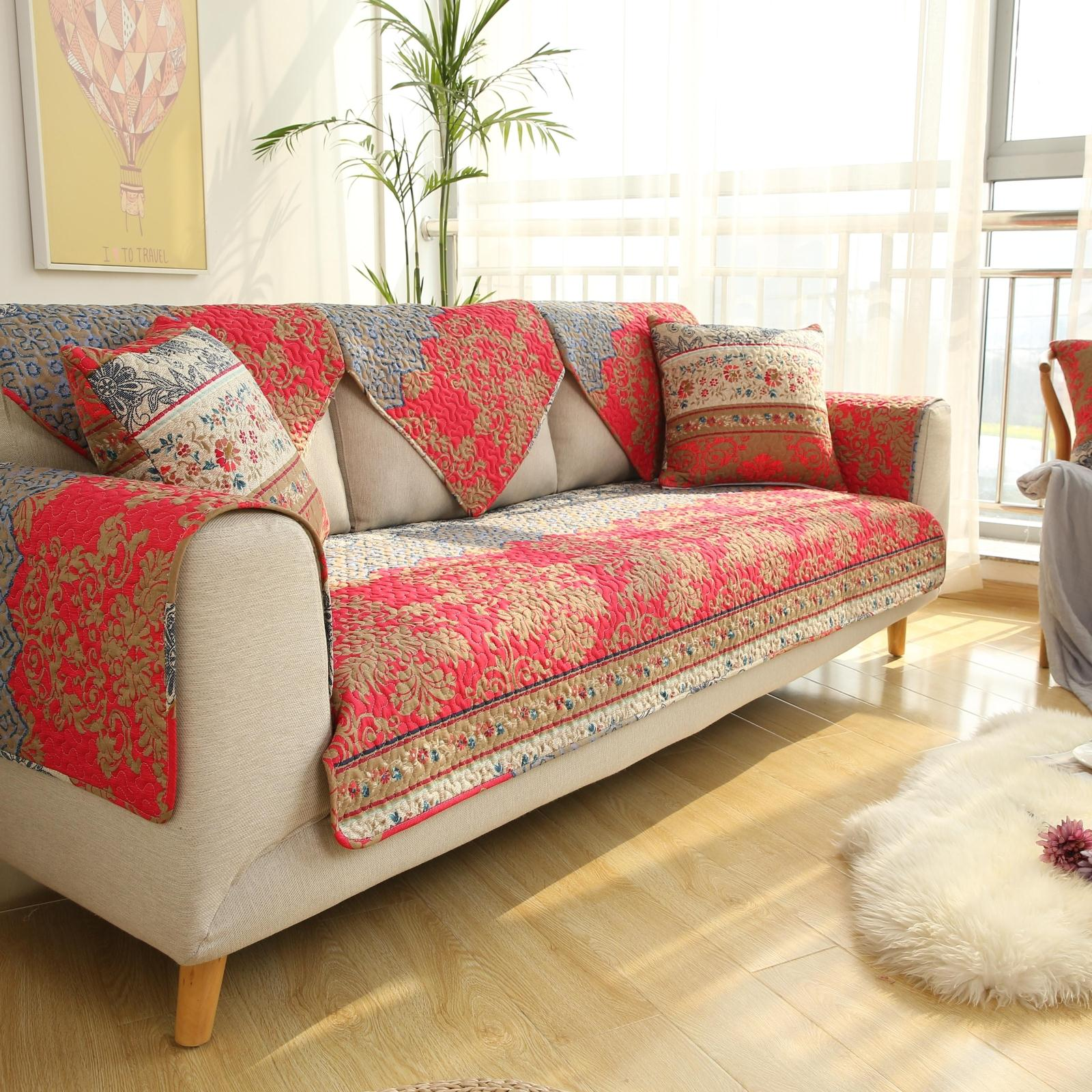 中式高档沙发套