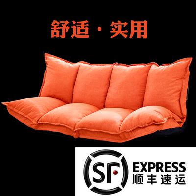 多功能日式榻榻米懒人沙发折叠床单双人创意可爱小户型卧室小沙发销量排行