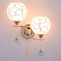 欧式壁灯客厅壁灯水晶壁灯过道墙壁灯卧室床头壁灯电视背景墙壁灯