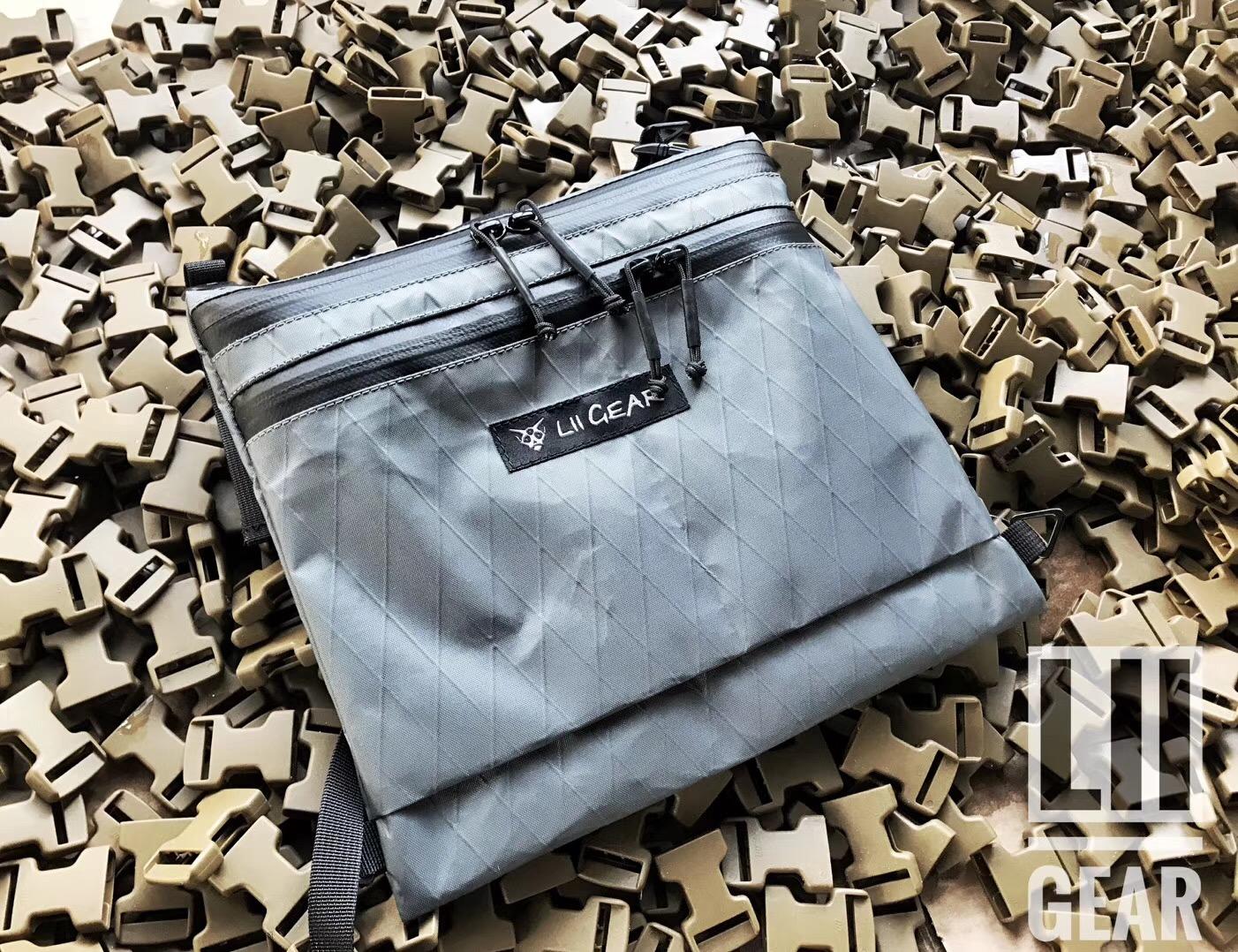 【敦刻尔克】限时Lii Gear Musstte Bag X 挎包潮包胸包凯夫拉