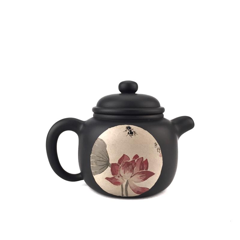 建水紫陶茶壶紫砂壶