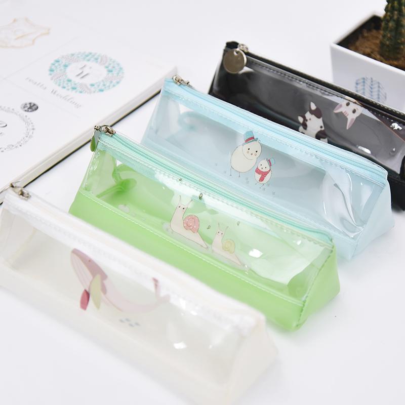 防水透明文具袋