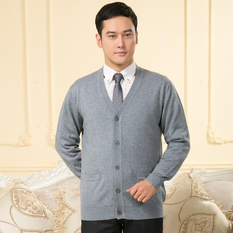 男式羊绒开衫
