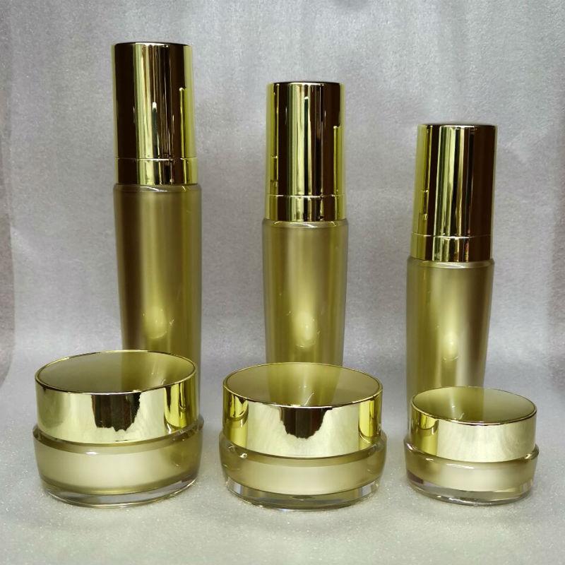 高档水乳液化妆品分套装按压喷雾膏面霜盒试用小样补水空瓶子包装
