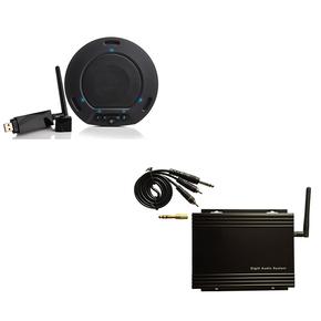 YL-D80W视频会议全向麦克风 无线 USB接口免驱动 可外接有源音响