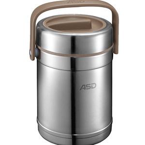 爱仕达保温提锅304不锈钢家用保温壶保温饭盒保温带盖手提便当盒