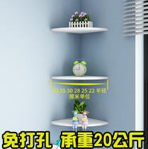 Угловой стеллаж для мебели для спальни декоративные перфорированные перегородки висячие стены треугольник книжные полки стены зубчатый кухня настенные доски