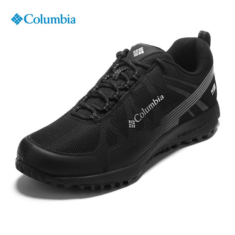 哥伦比亚户外登山鞋男士2018秋冬新款防水防滑透气徒步鞋DM2072