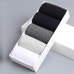 男袜子纯棉中筒四季长袜运动防臭商务黑色纯色男士棉袜春夏季薄款