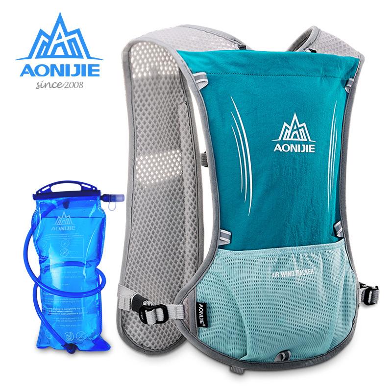 奥尼捷越野跑步背包双肩男女超轻透气户外运动水袋包防水骑行包5L