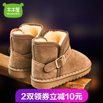 雪地靴鞋男童鞋