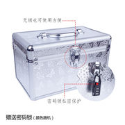 Technician Toolbox Aluminum Cosmetic Case Storage Box Ear Repair Foot Bath Massage Manicure Beauty Large Suitcase