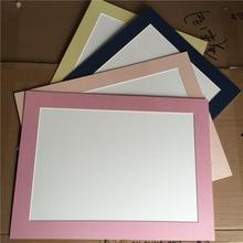 彩色卡纸相框裱8开4K画框挂墙a4简易画框6寸8寸7寸A3 工厂直供特价