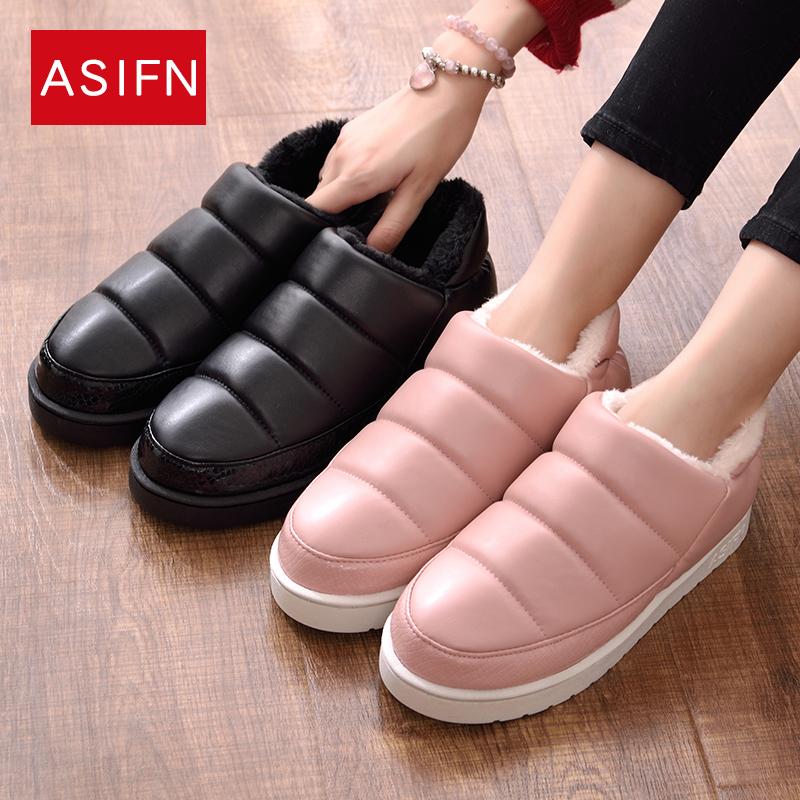 冬季羽绒鞋