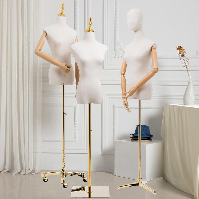 高档模特道具女半身女装服装店展示架橱窗假人全身韩版婚纱模特架