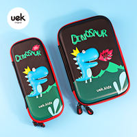 Uek boys and girls children's pencil case multifunctional cute cute cat dinosaur pen box primary school student storage box 3D