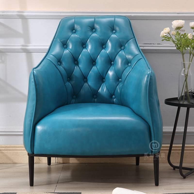 新款单人沙发椅现代