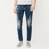 JackJones杰克琼斯进口修身水洗牛仔裤O|217232502