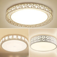 Warm bedroom lamp led ceiling lamp living room lamp simple modern round dining room lamp kitchen and aisle balcony lighting