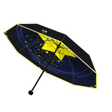 Vocaloid Reduction of Umbrella Black Rubber Student Cartoon Ultraviolet Protection