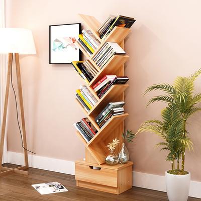 简易学生宿舍墙上置书架挂式床头隔层平板小格子角落装饰品双人
