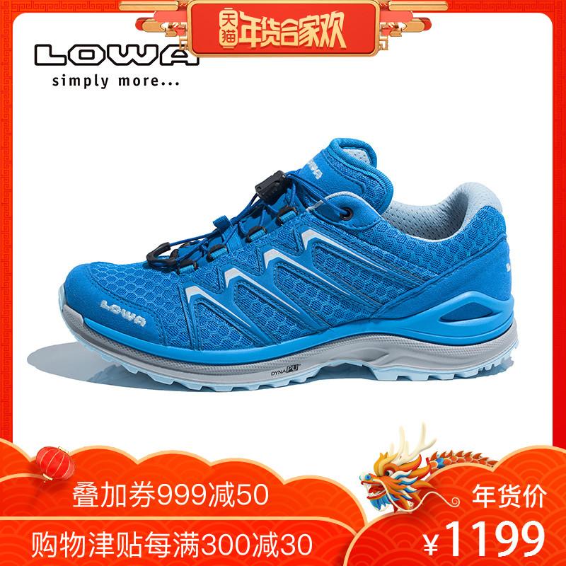LOWA户外野外透气登山徒步鞋女MADDOX 女式低帮鞋 L320656 027