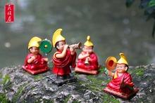 饰品车载摆件中国风礼品 原创藏族西藏青海特产小喇嘛创意家居装