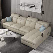 家德瑞万喜进口牛皮护脊功能舒适椅家庭影院沙发小户型简约ZEDERE