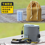 2019 new total field banana fan F16 third generation hanging waist fan dual battery USB charging portable large wind