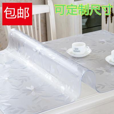 铺在桌子上的布垫子软玻璃加厚PVC桌布防水防烫塑料台布茶几餐桌谁买过的说说
