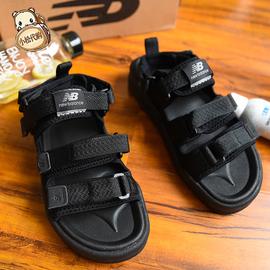 小松韩代new balance魔术贴nb凉鞋运动沙滩鞋男女凉鞋sd3205bbw图片
