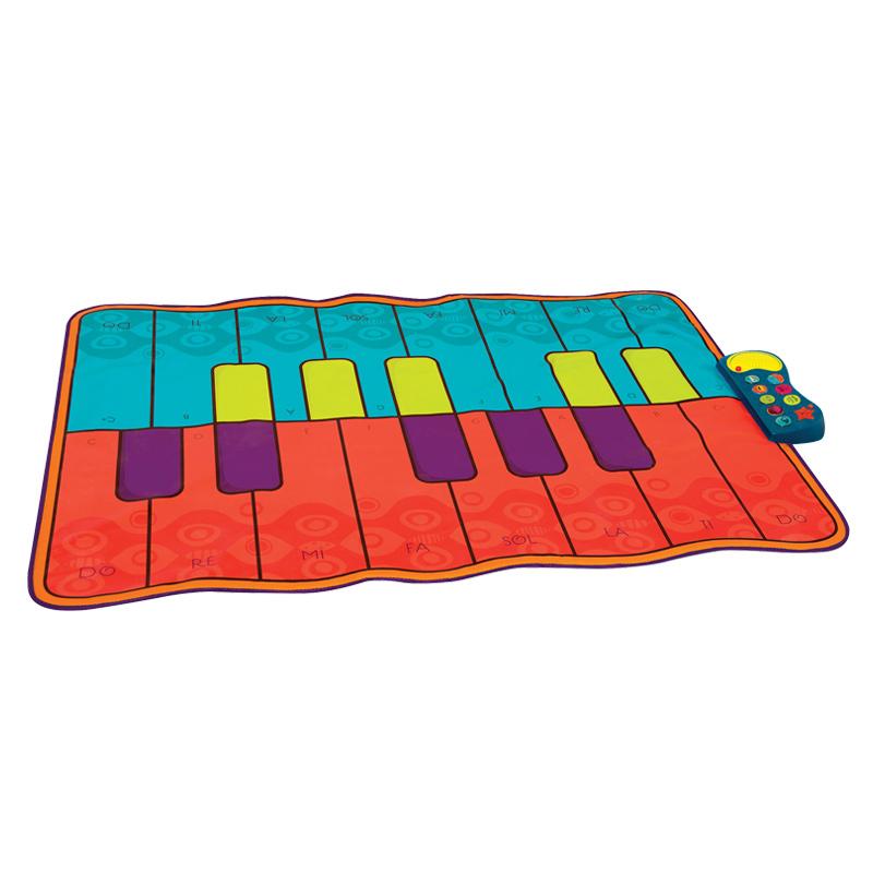 比乐B.toys钢琴音乐跳舞毯 可折叠儿童游戏垫音乐地毯 亲子互动