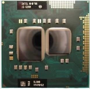 笔记本CPU I5-520M 2.4/3M/1333原装正版 支持HM55-57芯片组