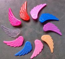 厂家轮滑鞋翅膀儿童溜冰鞋小翅膀 旱冰鞋翅膀冰鞋软胶翅膀装饰
