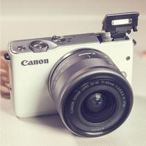 实在山东人佳能 EOS M10 15-45 入门级高清家用美颜 微单数码相机