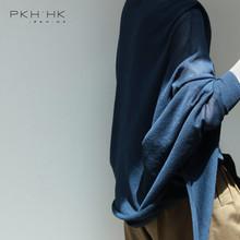 随性不规则披肩式苎麻丝防晒轻薄针织开衫 PKH.HK折上折夏季新品