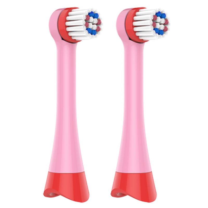 小马宝莉电动牙刷头PC1703充电款原装软毛替换头2支装原厂牙刷头