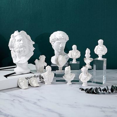 北欧维纳斯模型马赛素描头像树脂人物雕塑仿石膏拍摄道具家居摆件