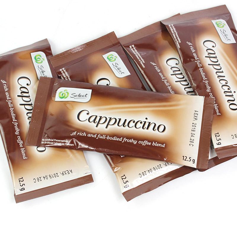 包邮卡布基诺咖啡 速溶咖啡固体饮料50包  进口冲饮赠巧克力粉