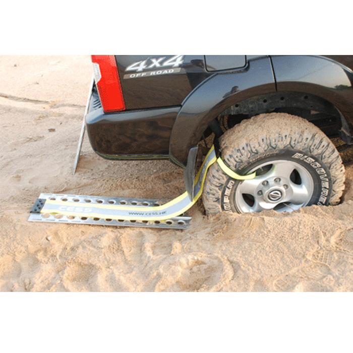 cess锰钢脱困板 越野车陷车自救脱困装备过桥板防沙板汽车脱困器