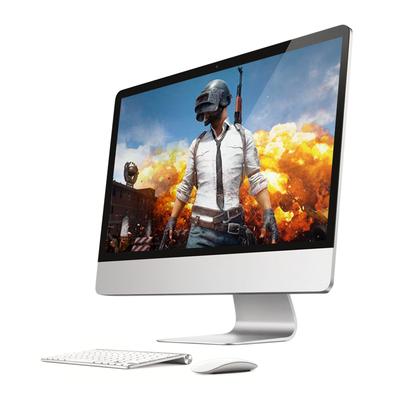 19-27英寸超薄一体机电脑吃鸡游戏独显办公家用i5i7台式主机全套有假货吗