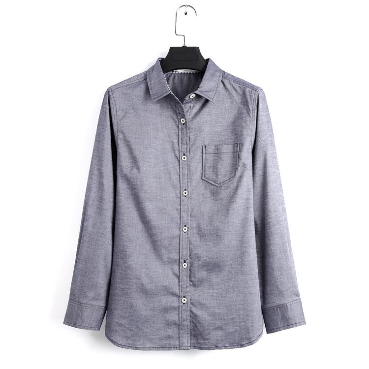 衬衫宽松直筒型