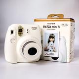 富士一次成像mini7S熊猫/7C套餐含拍立得相纸自拍照相机mini8相机