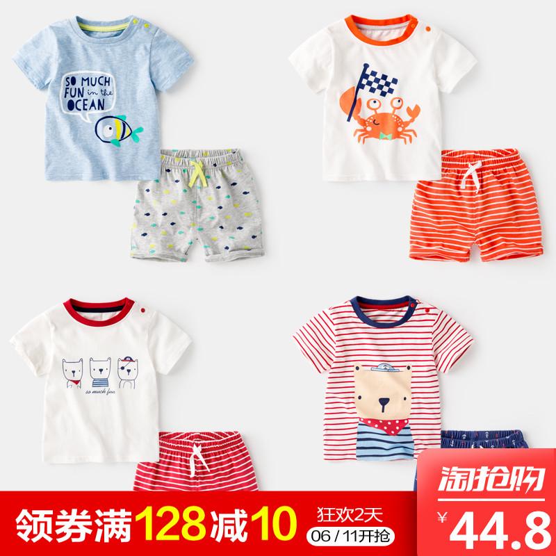2岁宝宝棉袄套装