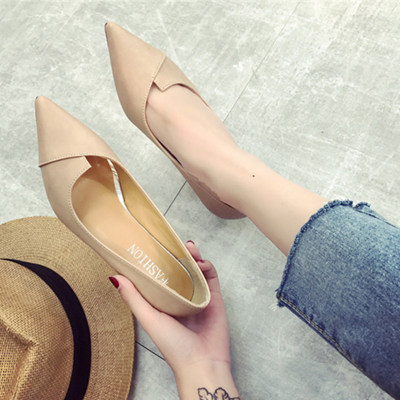 气质职业鞋